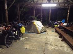 Noite no Horto Florestal de Águas de São Pedro (SP)