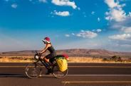 Pedal na ciclovia da estrada da Chapada dos Veadeiros (GO)