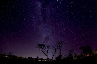 Céu estrelado em Corumbá de Goiás